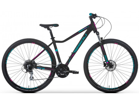 Velosipēds Tabou Wizz 29 2.0 black-pink-turquoise