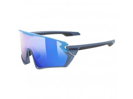 Brilles Uvex Sportstyle 231 blue grey mat / mirror blue
