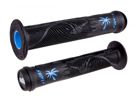 Stūres rokturi ODI Hucker Signature 160mm w/Flange Black/Blue