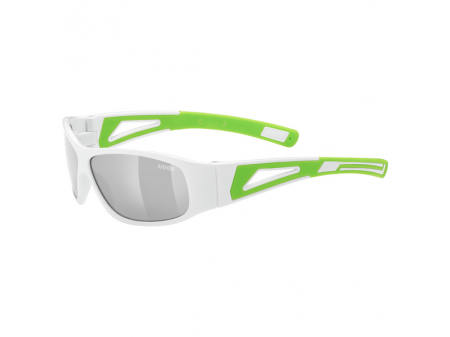 Brilles Uvex Sportstyle 509 white green