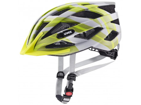 Velo ķivere Uvex Air wing cc grey-lime mat