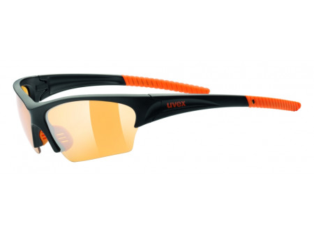 Brilles Uvex Sunsation black mat orange