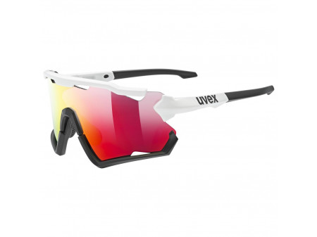 Brilles Uvex Sportstyle 228 white black / mirror red