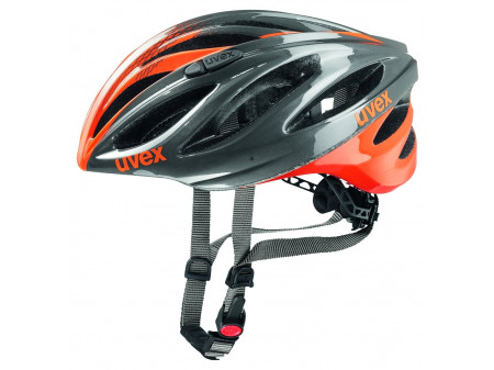 Velo ķivere Uvex Boss Race gray-neon orange