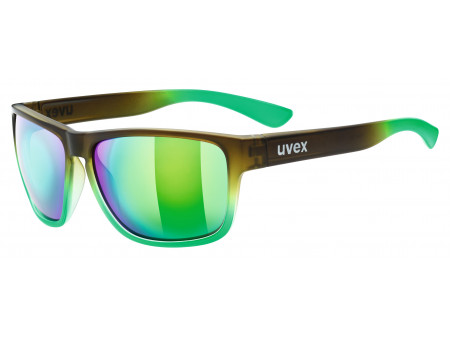 Brilles Uvex lgl 36 black mat green