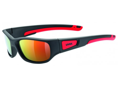 Brilles Uvex Sportstyle 506 black mat red