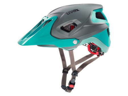 Velo ķivere Uvex Quatro Integrale lightblue-grey mat