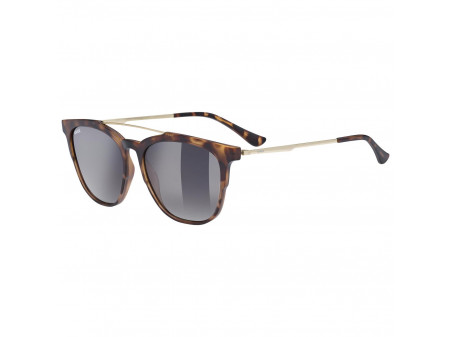 Brilles Uvex lgl 46 havanna mat / litemirror brown degrade