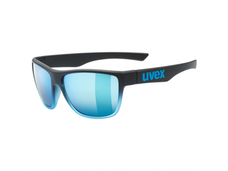 Brilles Uvex lgl 41 black blue mat