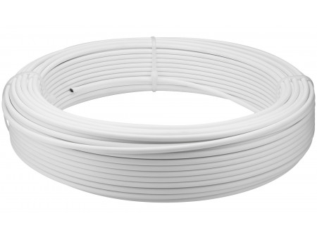 Bremzes trose apvalks Saccon Italy 5mm lubricated WHITE (1m)