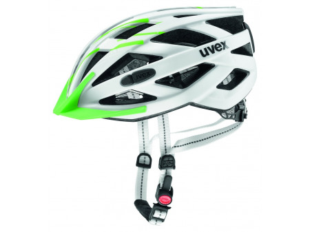 Velo ķivere Uvex City i-vo white-green mat