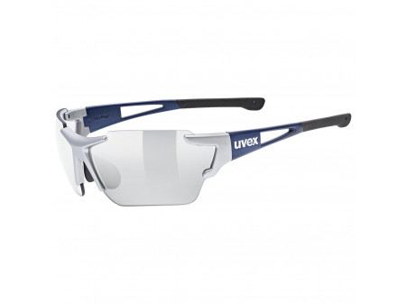 Brilles Uvex Sportstyle 803 race variomatic silver blue mat / litemirror silver