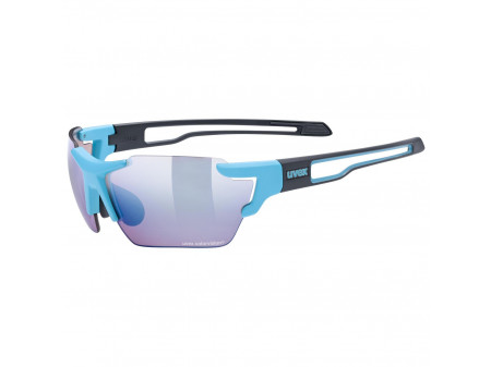 Brilles Uvex Sportstyle 803 CV small blue black / outdoor