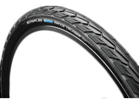 "Riepa 28"" Schwalbe Range Cruiser HS 457, Active Wired 47-622 Black"