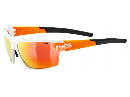 Brilles Uvex Sportstyle 113 white orange
