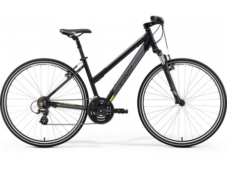 Velosipēds Merida CROSSWAY 10-V Lady 2019 matt black