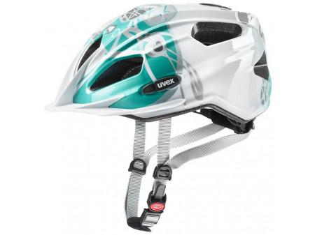 Velo ķivere Uvex Quatro Junior white-teal