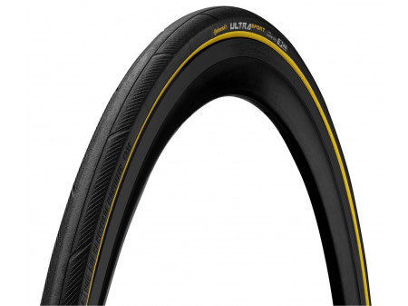 "Riepa 28"" Continental Ultra Sport III 25-622 black/yellow folding"