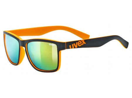 Brilles Uvex lgl 39 black mat orange