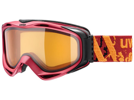 Brilles Uvex G.gl 300 LGL darkred mat
