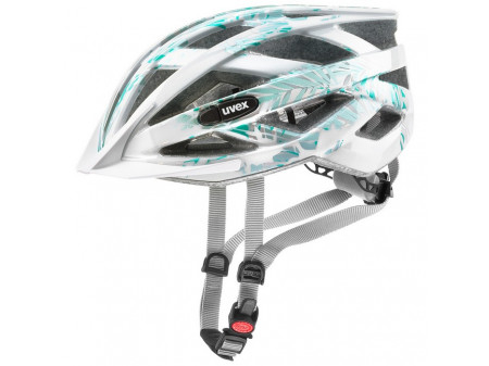Velo ķivere Uvex Airwing white-green
