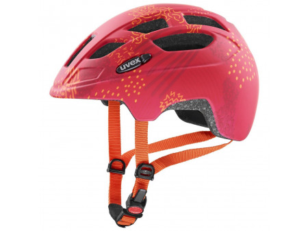 Velo ķivere Uvex Finale Junior cc red orange mat