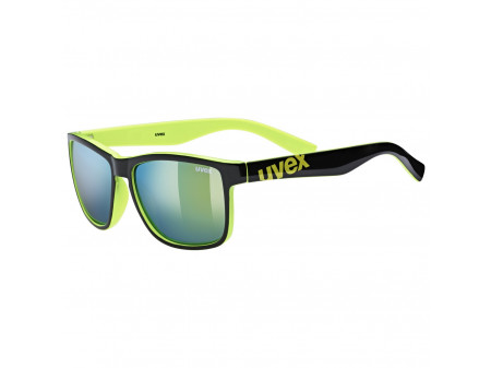 Brilles Uvex lgl 39 black lime / mirror yellow