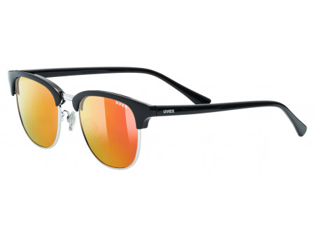 Brilles Uvex lgl 37 pola black silver mirror red