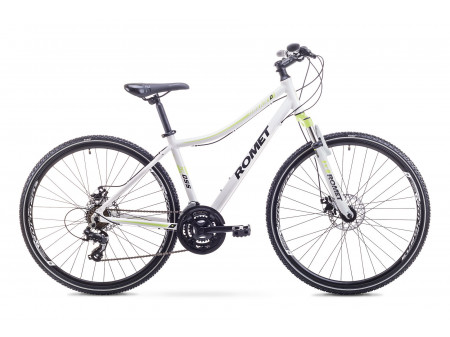 Velosipēds Romet Orkan 1 D 2018 white-yellow