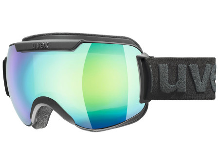 Brilles Uvex Downhill 2000 FM black mat / green-lgl