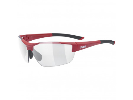 Brilles Uvex Sportstyle 612 VL red mat / smoke
