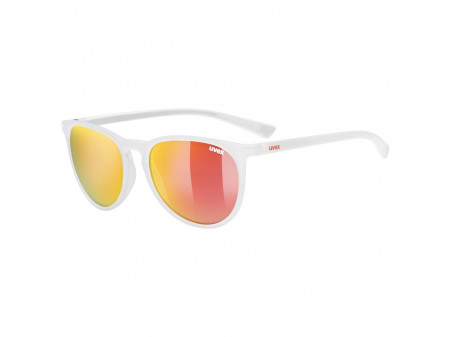 Brilles Uvex lgl 43 white mat / mirror red