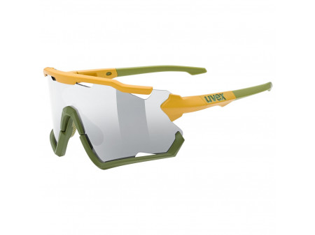 Brilles Uvex Sportstyle 228 must.oliv mat / mirror silver