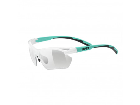 Brilles Uvex Sportstyle 802 small Variomatic white mint mat / smoke