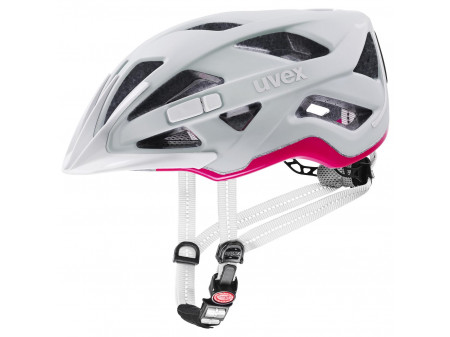 Velo ķivere Uvex City active papyrus-neon pink