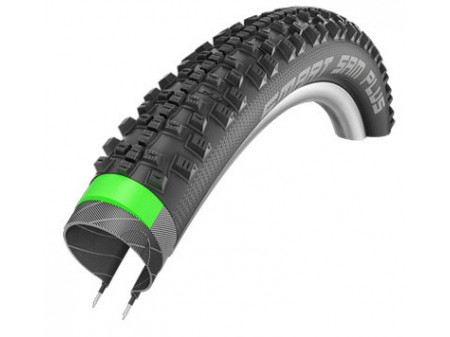 "Riepa 28"" Schwalbe Smart Sam Plus HS 476 Perf. Wired 42-622 Black"