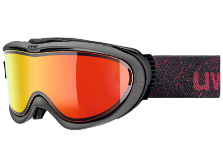 Brilles Uvex Comanche TOP anthracite mat / red
