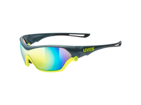 Brilles Uvex Sportstyle 705 grey mat neon yellow