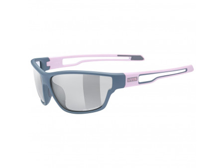 Brilles Uvex Sportstyle 806 Variomatic grey rose mat / smoke
