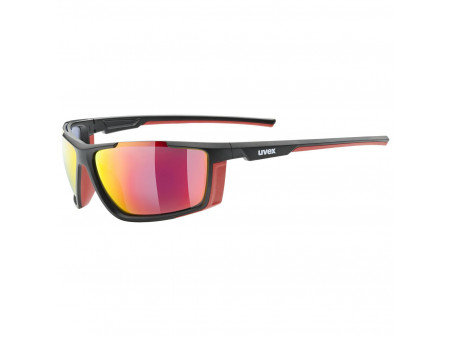 Brilles Uvex Sportstyle 310 black mat red / mirror red