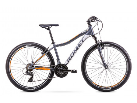 Velosipēds Romet Rambler R6.0 JR 2019 graphite-orange