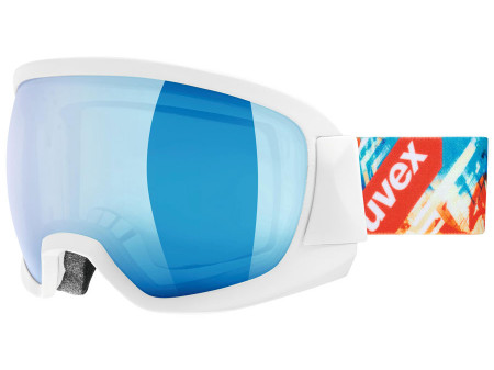 Brilles Uvex Contest FM white mat / blue