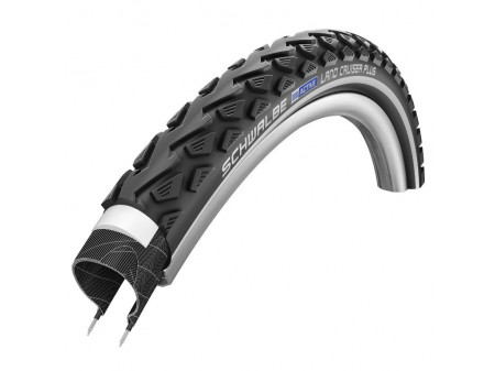 "Riepa 26"" Schwalbe Land Cruiser Plus HS 450, Active Wired 50-559 Black-Reflex"
