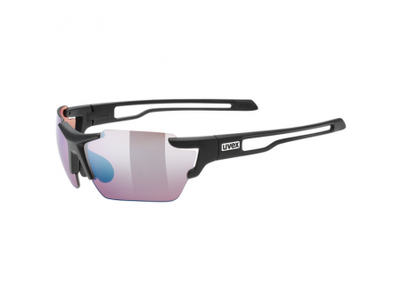 Brilles Uvex Sportstyle 803 colorvision vm small black mat