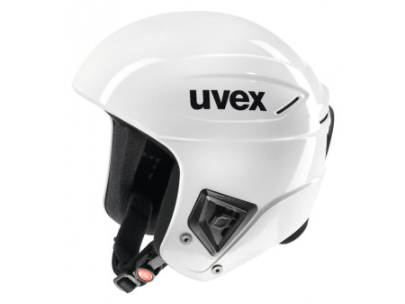 Velo ķivere Uvex Race+ all white