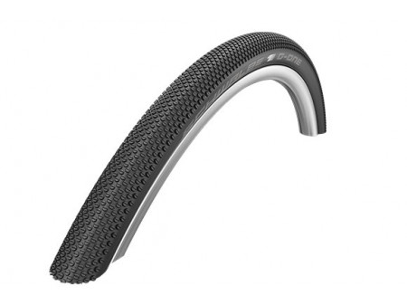 "Riepa 28"" Schwalbe G-One Allround HS 473, Perf. Wired 40-622 Black"