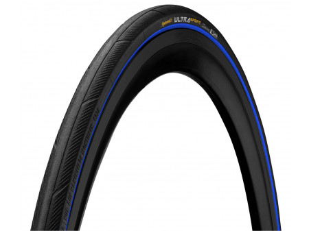 "Riepa 28"" Continental Ultra Sport III 25-622 black/blue folding"