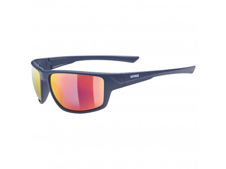 Brilles Uvex Sportstyle 230 blue mat / mirror red