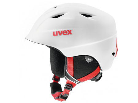 Velo ķivere Uvex Airwing 2 Pro white-red mat