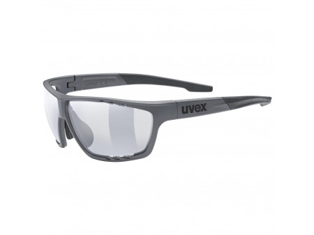 Brilles Uvex Sportstyle 706 Variomatic dark grey mat / smoke